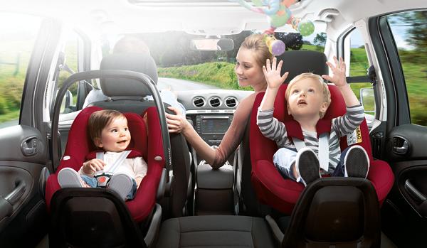 راهکارها برای مراقبت از کودک حین رانندگی