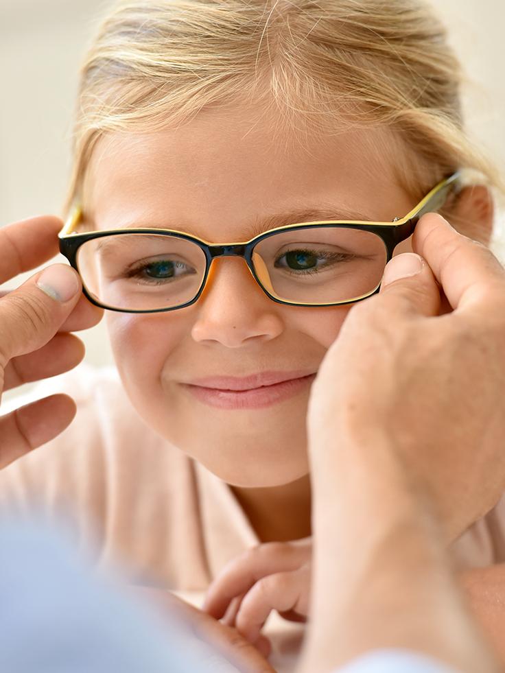 انتخاب عینک جدید برای کودک