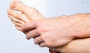 انواع مشکلات پا و بیماری های تیروئید