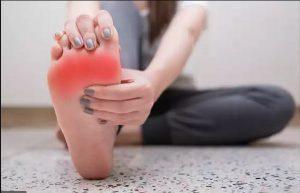 عفونتهای پا و مشکلات تیرویید