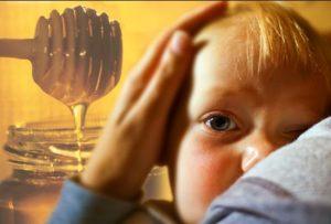 زیان عسل برای نوزادان