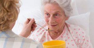 رفع بی میلی سالمند به غذا