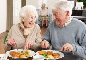 بی میلی سالمند به مواد غذایی
