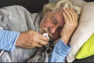 مردان سالمند و بیماری تنفسی
