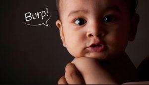 آروغ گیری در دوران شیردهی