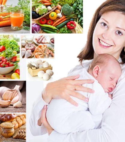رژیم غذایی مادران