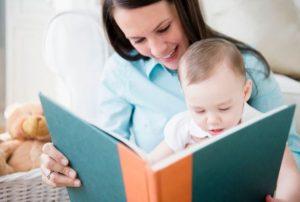 رشد مغز نوزاد با کتابخوانی