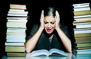 علایم اضطراب امتحان
