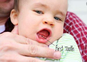 رویش دندان کودک