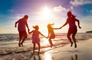 آرامش در خانواده شاد