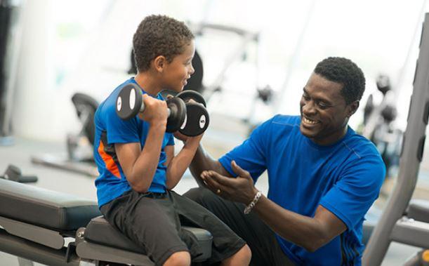 ورزش های استقامتی کودک
