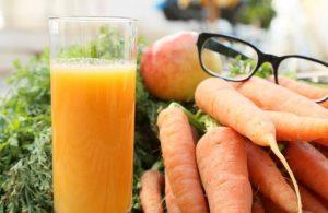 هویج و بینایی
