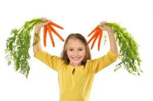 هویج و تغذیه کودک